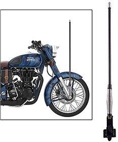 Universal Aluminium Antenna Rod with Chrome Cap for All Bikes (65cm)