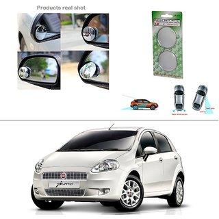 AutoStark Blind Spot Rear View Convex Mirror for Fiat Punto