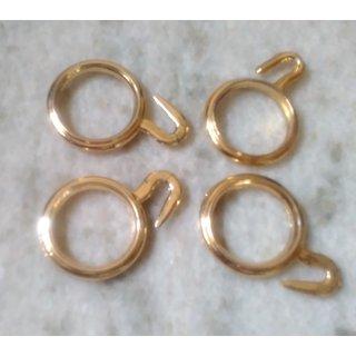 100 pcs plastic curtain ring set