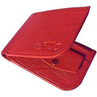 Friends Company Tan Genuine Leatherite Wallet For Men-FashioncodeFC06
