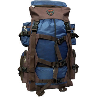 Donex 55 L Water resistant Hiking Rucksack Backpack Multicolor RSC01839