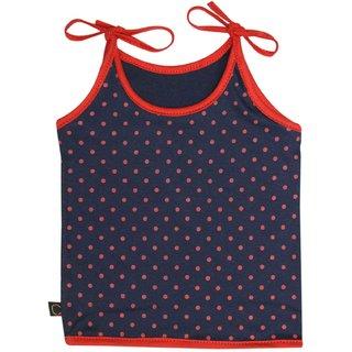 Tumble Navy Blue Polka Dot Print Vest (0-6 Months)