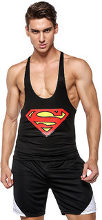 3D Compression Tank Top and gym shorts by Treemoda Comic collection