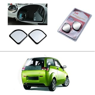 AutoStark 3R Blind Spot Mirror, Shape Semi Round, Suitable Rear View Mirrors And Side Mirrors For  Mahindra Xylo