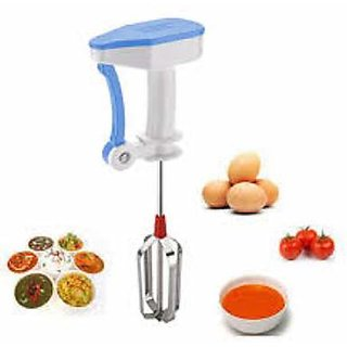 Free Hand Blender (Butter Milk Lassi Maker Hand Free Blender Mixer Egg Beater Lassi Butter Coffee Milk Egg Beater