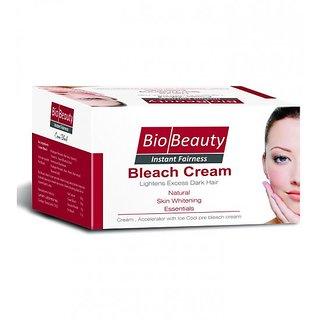 Bio Beauty Instant Fairness Cream Bleach Natural Skin Whitening Essentials