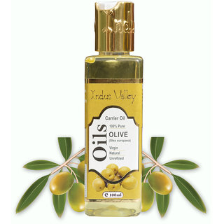 Organic Cold Pressed Olive Carrier Oil For Cleansing 100 ml