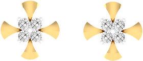 Cygnus 18k Gold GHI/SI Diamond Urvi  Earring