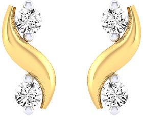 Cygnus 18k Gold GHI/SI Diamond Dhwani  Earring