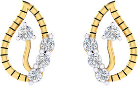 Cygnus 18k Gold GHI/SI Diamond Iana Earring