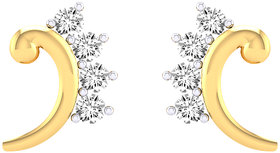 Cygnus 18k Gold GHI/SI Diamond Earl Earring