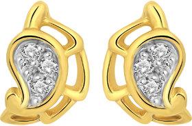 Cygnus 18k Gold GHI/SI Diamond Fornice Earring