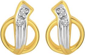 Cygnus 18k Gold GHI/SI Diamond Ciclo Earring