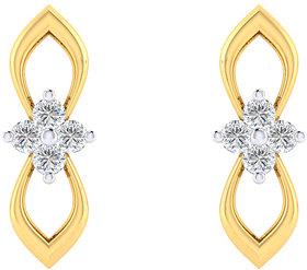 Cygnus 18k Gold GHI/SI Diamond Stina Earring