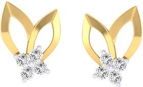 Cygnus 18k Gold GHI/SI Diamond Ash Earring