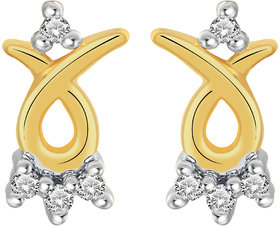 Cygnus 18k Gold GHI/SI Diamond Starla Earring