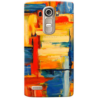 LG G4 Case, Multi Color Painted Slim Fit Hard Case Cover/Back Cover for LG G4