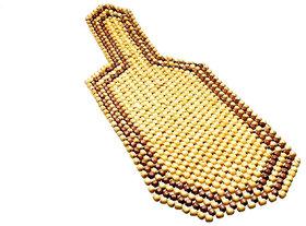 Spidy Moto Wooden Beaded Seat Cover Massage Cool Car Cushion Mahindra Bolero