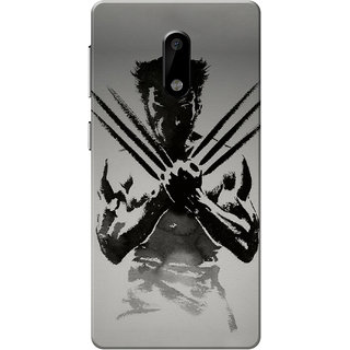 Nokia 6 Case, Wolverin Slim Fit Hard Case Cover/Back Cover for Nokia 6
