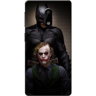 Nokia 6 Case, BT & Joker Slim Fit Hard Case Cover/Back Cover for Nokia 6