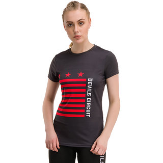 Original Devils Circuit Apparel Cool Flag Tee