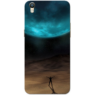 Oppo F1 Plus Case, Oppo R9 Case, Eclipse Turquoise Brown Slim Fit Hard Case Cover/Back Cover for Oppo R9/Oppo F1 Plus