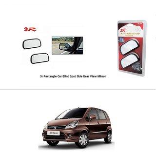 AutoStark 3R Wide Rectangle Car Blind Spot Side Rear View Mirror (Set of 2) For Maruti Suzuki Zen Estilo