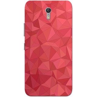 Lenovo Zuk Z1 Case, Red Crystal Print Slim Fit Hard Case Cover/Back Cover for Lenovo Zuk Z1