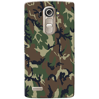 LG G4 Case, Military Army Camouflage Slim Fit Hard Case Cover/Back Cover for LG G4