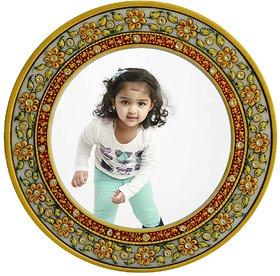 Marble Flower Design Photo Frame