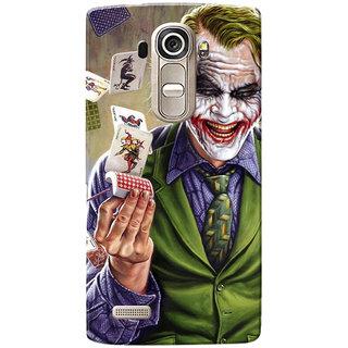 LG G4 Case, Joker Smiling Slim Fit Hard Case Cover/Back Cover for LG G4