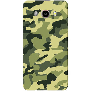 Galaxy J5 2016 Case, Galaxy J5 Duos 2016 Case, Army Light Shade Uniform Slim Fit Hard Case Cover/Back Cover for Samsung Galaxy J5 Duos (2016)/J5 (2016)