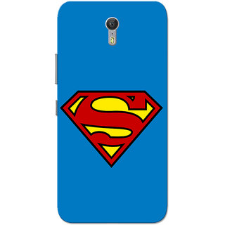 Lenovo Zuk Z1 Case, Supermn Blue Slim Fit Hard Case Cover/Back Cover for Lenovo Zuk Z1