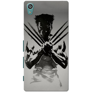 Xperia Z5 Case, Xperia Z5 Dual Case, Wolverin Slim Fit Hard Case Cover/Back Cover for Sony Xperia Z5 Dual/Z5