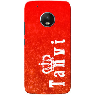 Moto G5 Plus Case, Tanvi Red Slim Fit Hard Case Cover/Back Cover for Motorola Moto G5 Plus