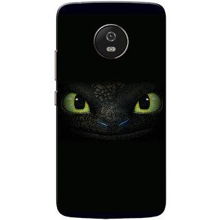 Moto G5 Case, Dragon Eyes Green Black Slim Fit Hard Case Cover/Back Cover for Motorola Moto G5/Moto G 5th Gen