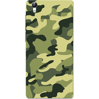 Vivo Y51 Case, Army Light Shade Uniform Slim Fit Hard Case Cover/Back Cover for Vivo Y51