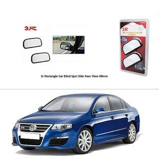 AutoStark 3R Wide Rectangle Car Blind Spot Side Rear View Mirror (Set of 2) For Volkswagen Jetta 2009