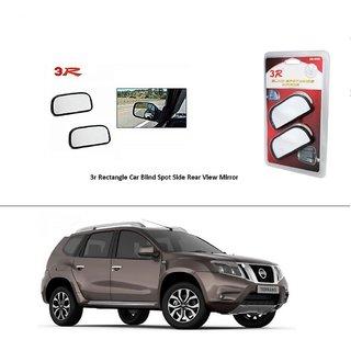 AutoStark 3R Wide Rectangle Car Blind Spot Side Rear View Mirror (Set of 2) For Hyundai Creta