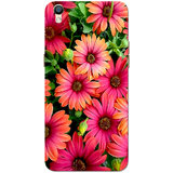 Oppo F1 Plus Case, Oppo R9 Case, Pink Flower Slim Fit Hard Case Cover/Back Cover for Oppo R9/Oppo F1 Plus