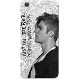 Oppo F1 Plus Case, Oppo R9 Case, Justin Bieber Black White Slim Fit Hard Case Cover/Back Cover for Oppo R9/Oppo F1 Plus