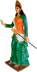Attrative statue of Mother India
