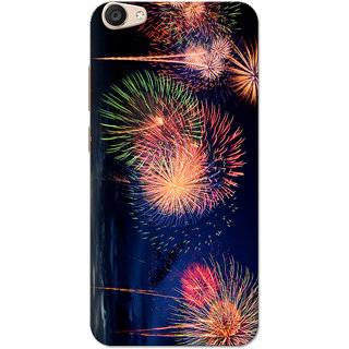 Vivo V5 Plus Case, Fireworks Slim Fit Hard Case Cover/Back Cover for Vivo V5 Plus
