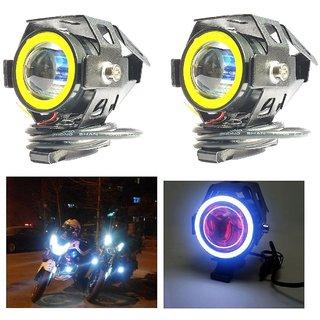 a38ab536a23 Andride 2PC U7 Mini LED Fog Light Bike Driving DRL Fog Light Spotlight