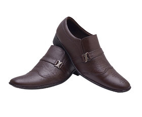 Enzo Cardini Men's Brown Original Leather Formal Shoes