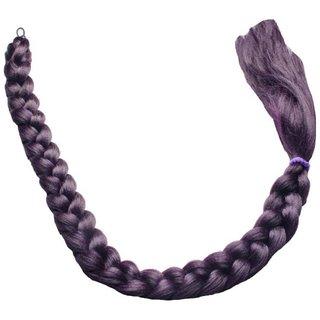Tahiro Black Desi Plaid Chotti Hair Extension - Pack Of 1