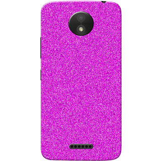 best authentic c9ede fa241 Moto C Plus Case, Sparkle Pink Slim Fit Hard Case Cover/Back Cover for  Motorola Moto C Plus