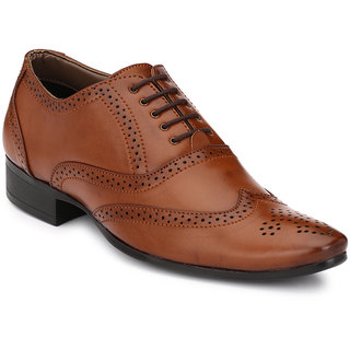 Mactree Men Brown Formal Shoes