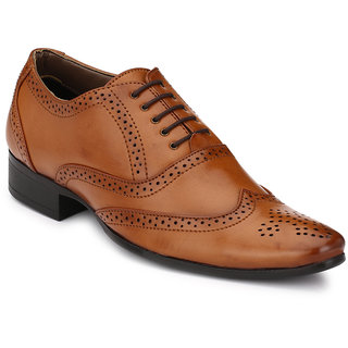 Mactree Men Tan Formal Shoes