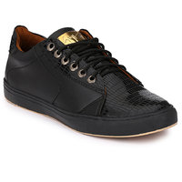 Mactree Men Black Casual Sneakers
